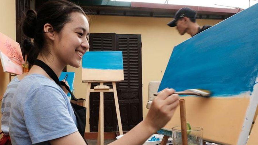 Học vẽ tranh như là liệu pháp trị liệu tinh thần