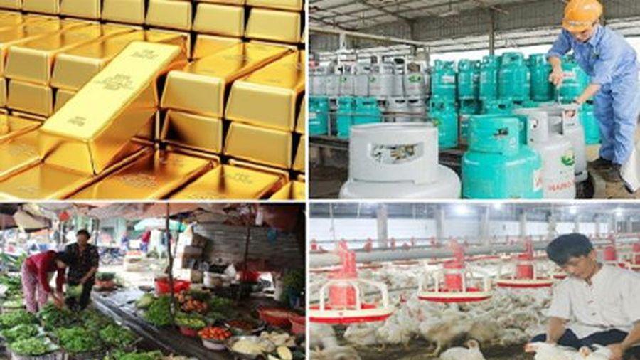 Tiêu dùng trong tuần: Giá vàng, gas, thực phẩm đồng loạt tăng mạnh