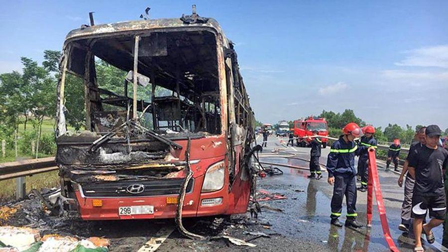 Tăng cường kiểm tra, đề phòng cháy nổ xe khách