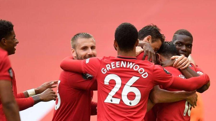 Thắng Bournemouth giòn giã 5-2, Man United tạm chiếm ngôi thứ tư