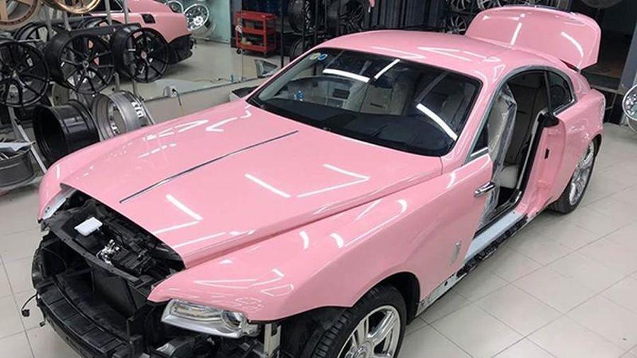 Sắp có xe siêu sang Rolls-Royce Wraith hồng đầu tiên tại Việt Nam
