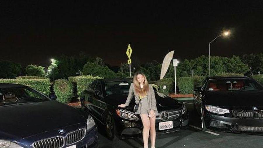 Mới 19 tuổi, loạt hot girl sở hữu hàng hiệu, xe sang cực đỉnh