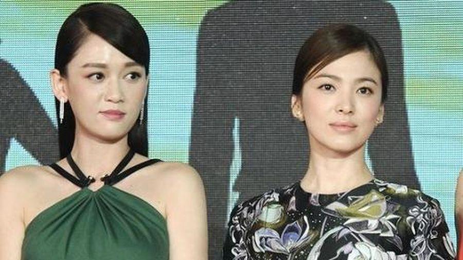 Mỹ nhân xứ Hàn bị biến thành 'bạch tuộc' khi đứng cạnh sao nước khác: Song Hye Kyo bị 'dìm' thê thảm nhất