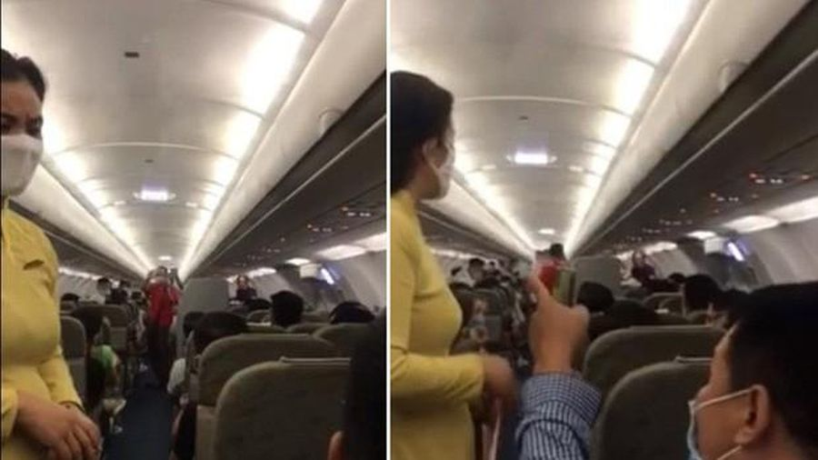 Cấm bay hàng loạt khách gây rối trên máy bay