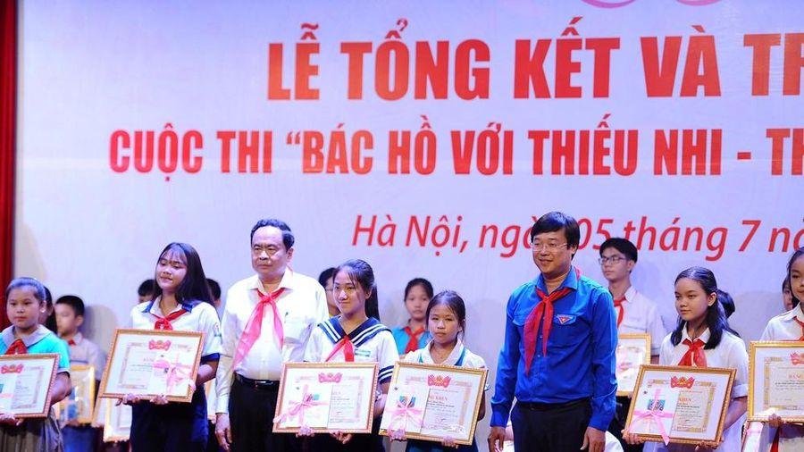 Trao giải cuộc thi 'Bác Hồ với thiếu nhi – Thiếu nhi với Bác Hồ'