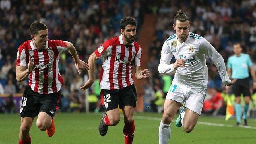 Bilbao 0-0 Real Madrid: Ăn miếng trả miếng (H1)
