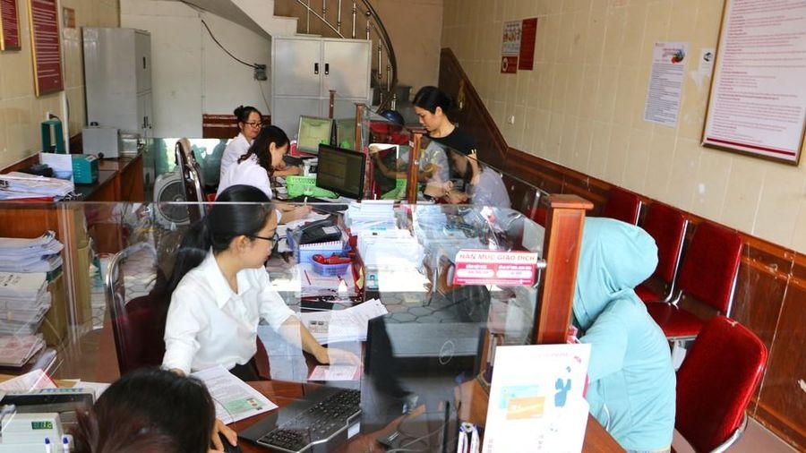 Phòng giao dịch Hồng Sơn - Agribank chi nhánh Nam Nghệ An chuyển về trụ sở mới