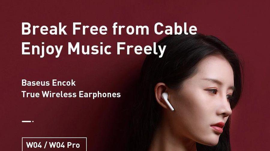 Xiaomi mở bán tai nghe Baseus Encok W04 Pro, giá từ 22 USD
