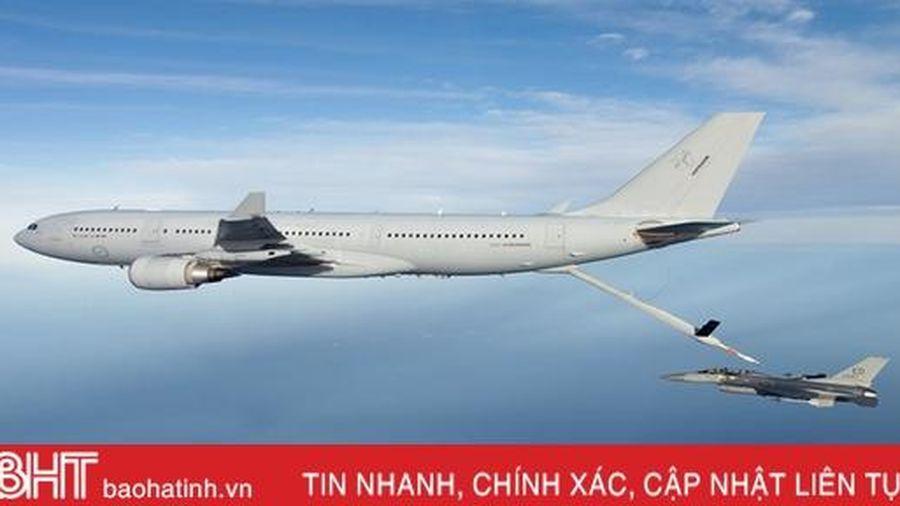 NATO nhận máy bay tiếp nhiên liệu Airbus A330 đầu tiên