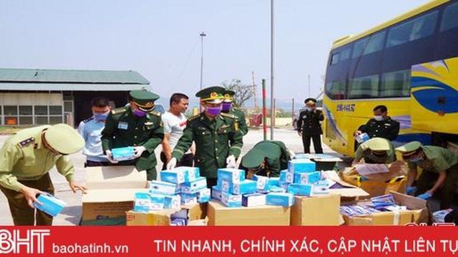 Lực lượng quản lý thị trường Hà Tĩnh ngăn chặn, xử lý hàng chục vụ vận chuyển hàng lậu, hàng giả