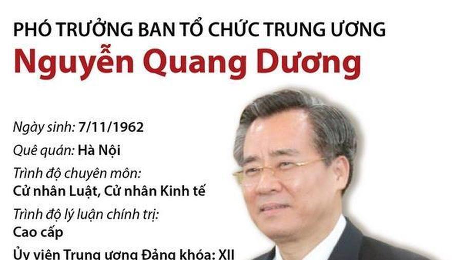 Phó Trưởng Ban Tổ chức Trung ương Nguyễn Quang Dương