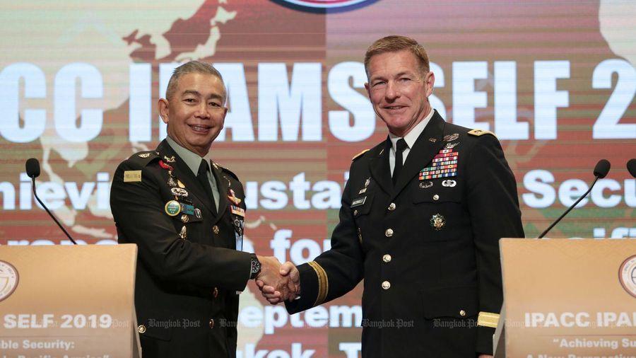 Phái đoàn quân sự cấp cao Mỹ tới Thái Lan ngay khi mở cửa biên giới