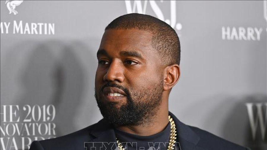 Nghệ sĩ nhạc rap Kanye West bất ngờ thông báo tranh cử tổng thống Mỹ