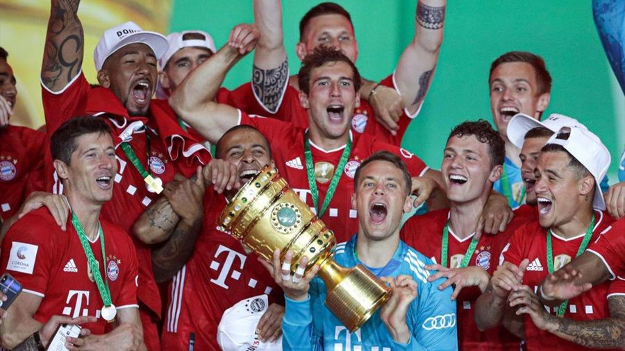 Bayern Munich tiếp đà thâu tóm 'cú ăn ba' bằng Cúp Quốc gia Đức