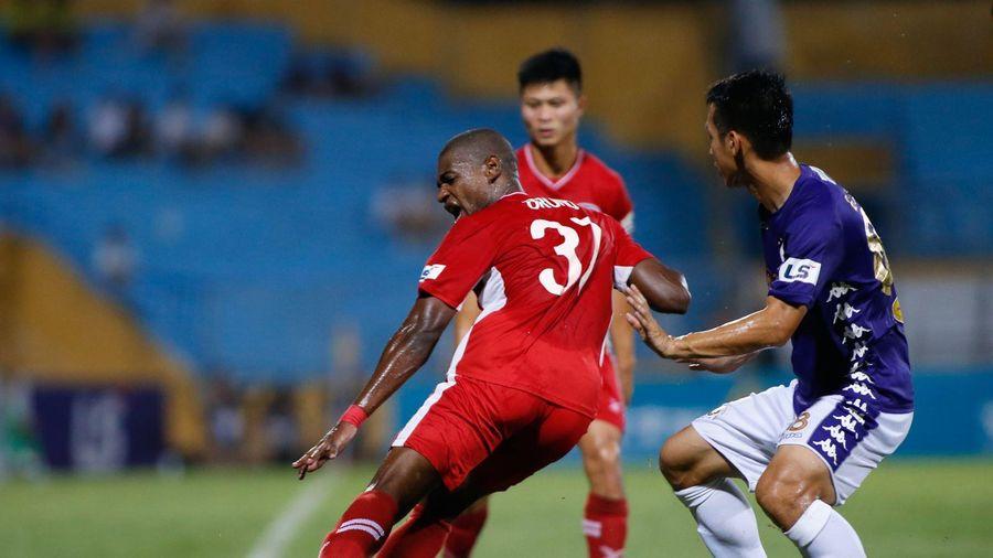 V.League 2020: Kết thúc trận đấu, CLB Viettel hòa CLB Hà Nội 1-1