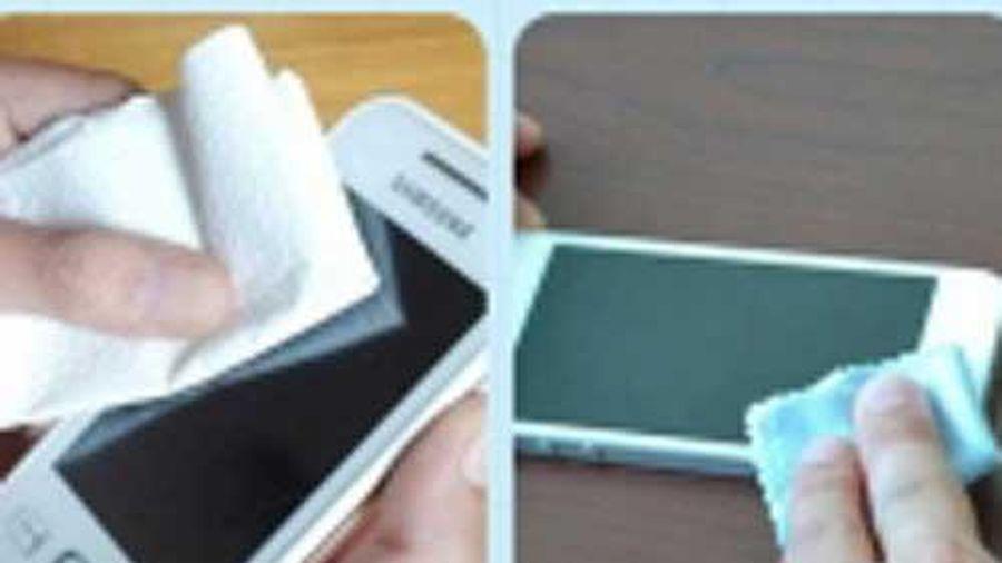 6 vật dụng dùng khăn giấy lau là hỏng, 99% chúng ta đều mắc sai lầm tai hại này