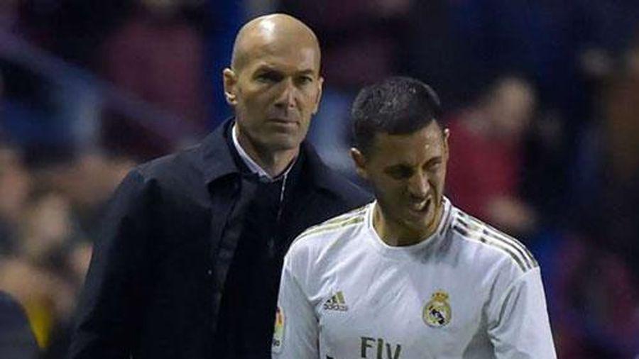 HLV Zidane 'bắt bệnh' cho Hazard