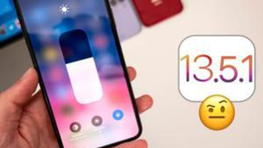 Nhiều iPhone gặp lỗi hao pin nghiêm trọng khi cập nhật iOS 13.5.1