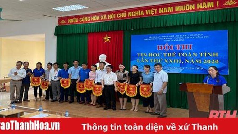 170 thí sinh tham gia chung kết hội thi Tin học trẻ tỉnh Thanh Hóa lần thứ XXIII