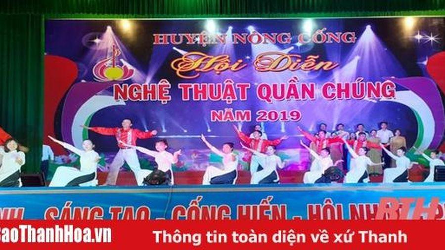 Lan tỏa phong trào 'Toàn dân đoàn kết xây dựng đời sống văn hóa' ở huyện Nông Cống