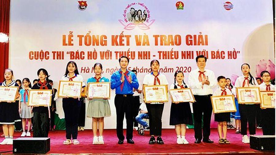 Cuộc thi 'Bác Hồ với thiếu nhi - Thiếu nhi với Bác Hồ': Khánh Hòa đạt 1 giải tập thể, 5 giải cá nhân