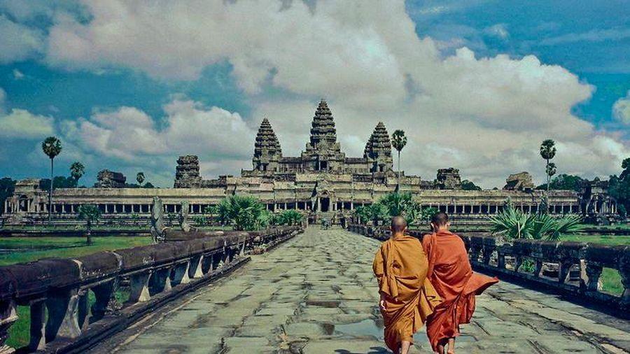 Campuchia : Quần thể đền Angkor vắng bóng du khách vì Covid-19
