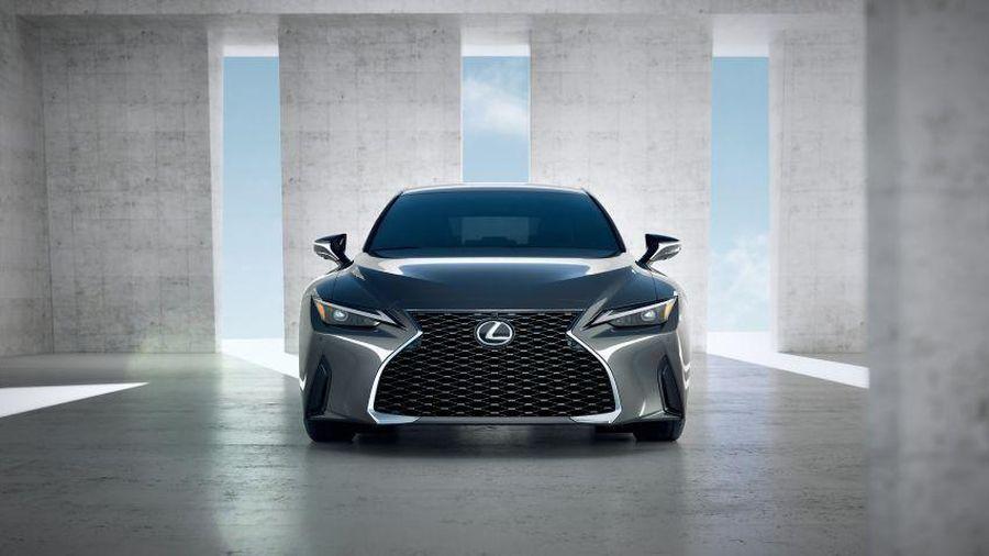 Lexus IS 500 có thể được trang bị động cơ biturbo V6