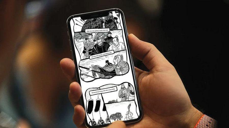 Truyện tranh trên thiết bị di động: Gặp khó dù giàu tiềm năng