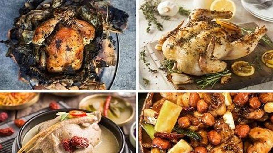 Khám phá những món ngon độc đáo được chế biến từ gà