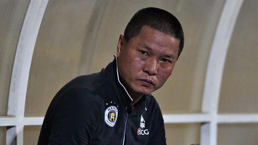 HLV Chu Đình Nghiêm: 'CLB Hà Nội muốn thay người cũng không được'