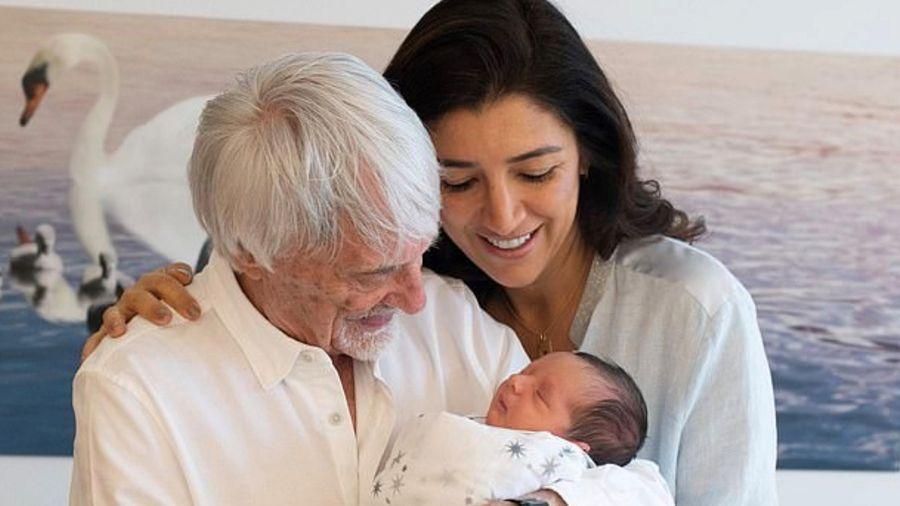 Ông trùm F1 muốn có thêm con ở tuổi 89