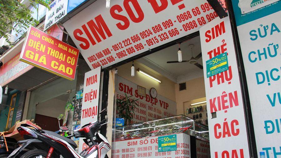 Xử lý căn bản SIM, tin nhắn, cuộc gọi rác vào cuối năm