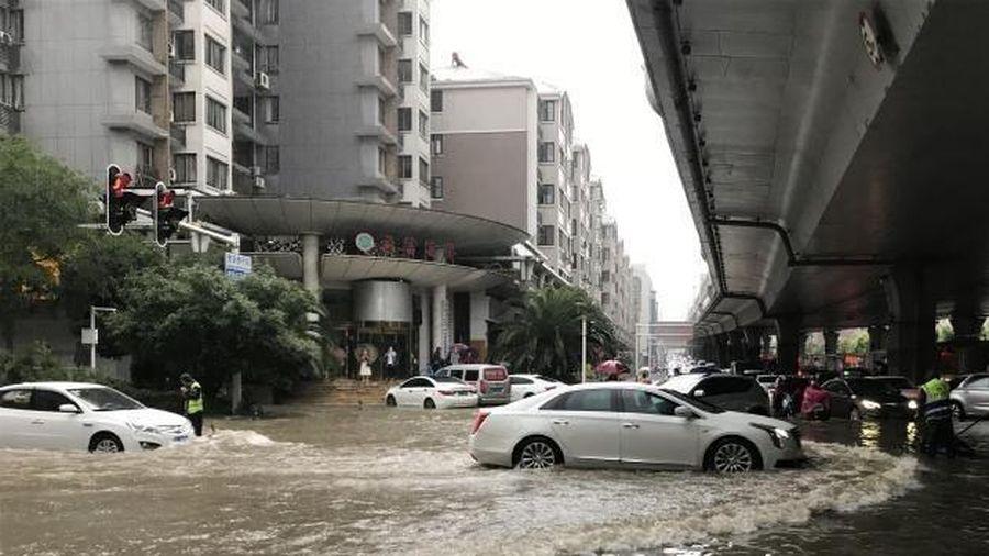 Tỉnh thành Trung Quốc nâng cấp ứng phó với mưa lũ