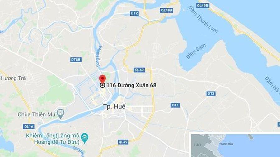 Di tích 2 cổng gạch là cửa đặt pháo trấn giữ kinh thành Huế
