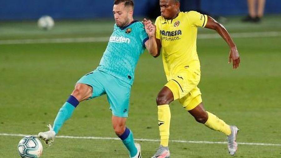 Nhấn chìm 'tàu ngầm vàng' Villarreal, Barcelona quyết đua vô địch