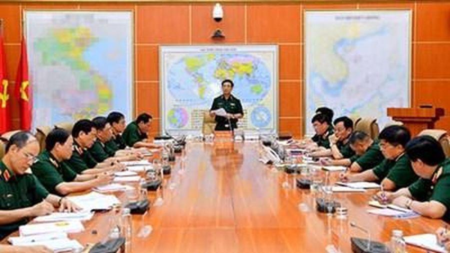 Quân ủy Trung ương thông qua công tác chuẩn bị Đại hội nhiệm kỳ 2020-2025 của Đảng bộ Học viện Quốc phòng và Đảng bộ Tổng công ty Đông Bắc