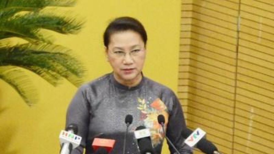 Chủ tịch Quốc hội Nguyễn Thị Kim Ngân dự khai mạc Kỳ họp thứ 15, HĐND TP Hà Nội khóa XV