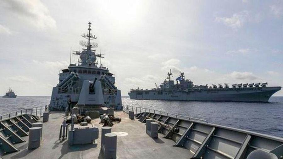Nóng: Căng thẳng Mỹ - Trung gia tăng, quân đội Australia không thể đứng nhìn