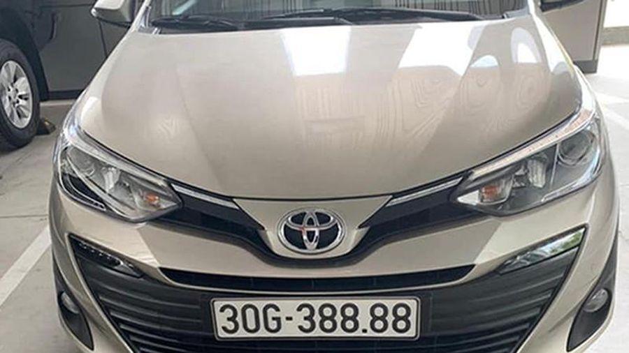 Toyota Vios biển 'tứ quý 8' Hà Nội, rao bán hơn 1 tỷ đồng