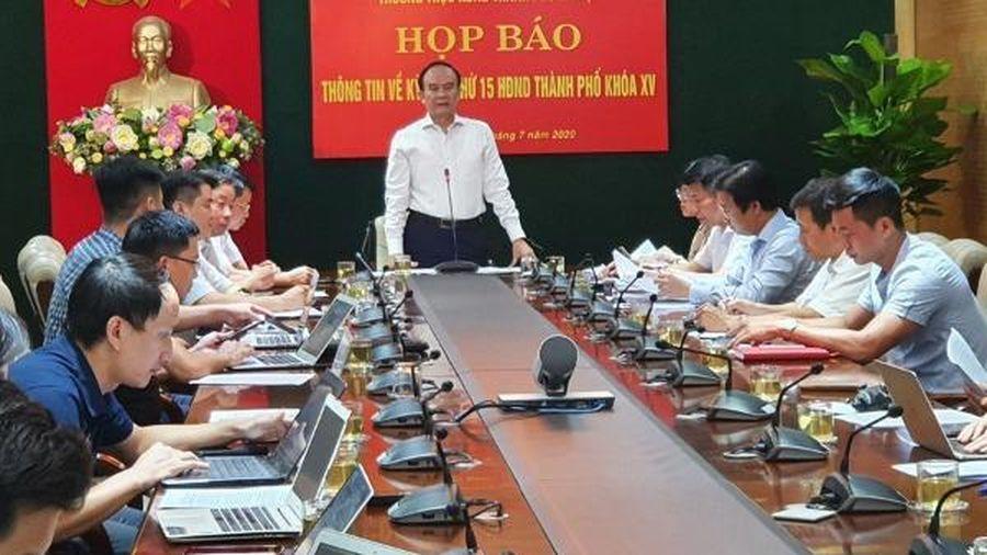 Kỳ họp thứ 15 HĐND Thành phố Hà Nội: Tăng thời gian thảo luận về phục hồi kinh tế - xã hội sau dịch Covid-19