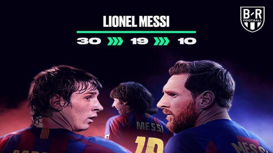 Ảnh kể: Hành trình tới chiếc áo số 10 của Messi, Rooney, Hazard, Mane, Rashford