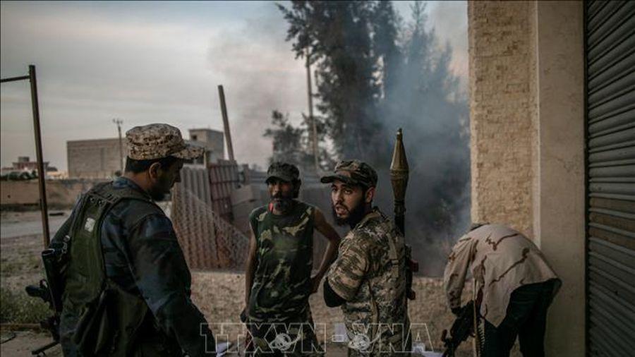 GNA cáo buộc không quân nước ngoài tấn công căn cứ quân sự