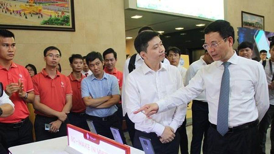 Hệ thống mạng 5G sẽ sử dụng toàn bộ thiết bị Make in Việt Nam