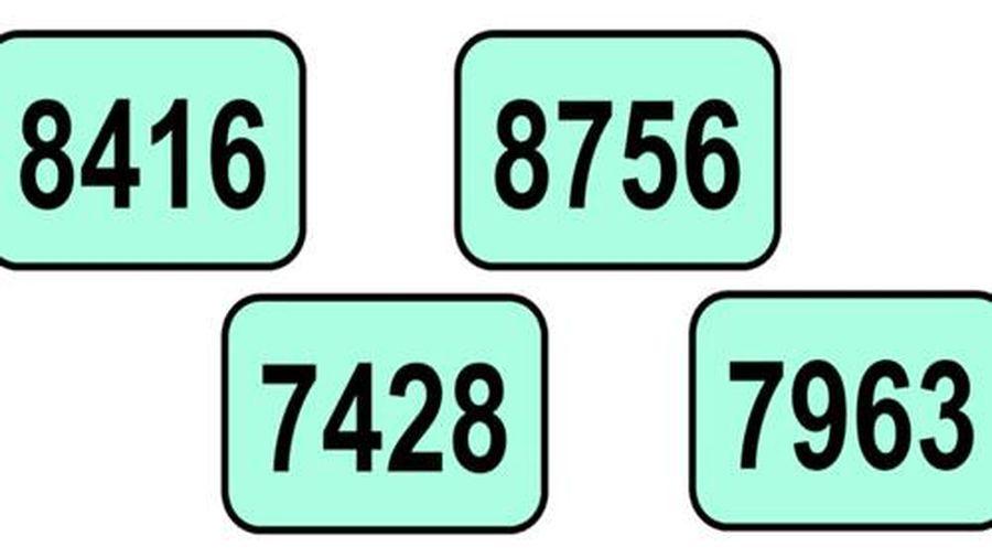 Thử thách khả năng suy luận với câu đố tìm dãy số khác biệt