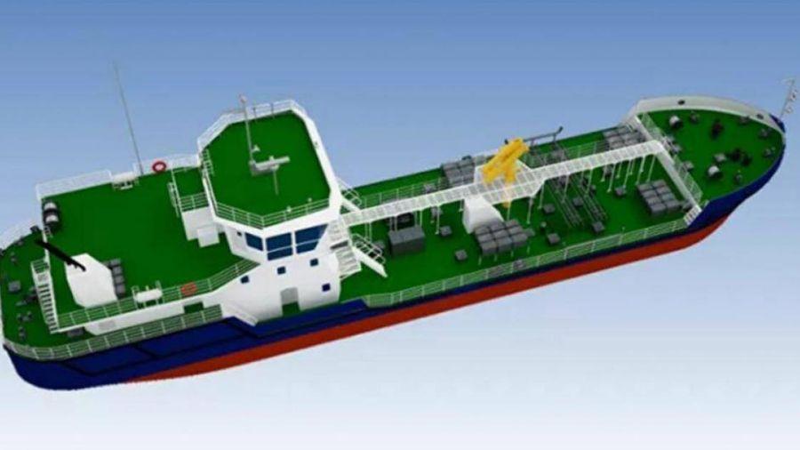 Nga chế tạo tàu chở dầu sinh thái, thu gom rác thải nội thủy