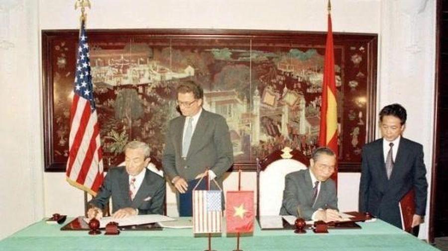 25 năm quan hệ Việt - Mỹ: Những khoảnh khắc lịch sử