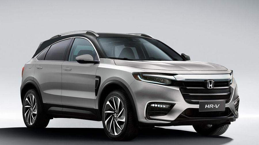 Bản phác thảo Honda HR-V được lấy cảm hứng từ mẫu hybrid Insight, chờ ngày ra mắt