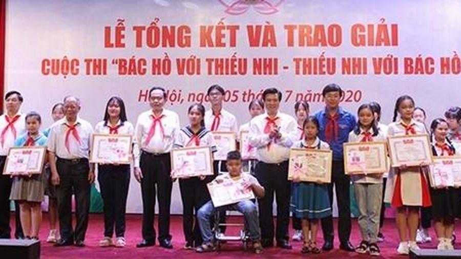 Tổng kết và trao giải cuộc thi 'Bác Hồ với thiếu nhi - Thiếu nhi với Bác Hồ'