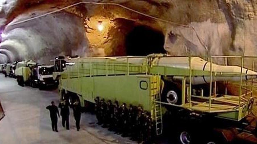Iran hé lộ đã xây 'thành phố tên lửa' ngầm dọc vùng Vịnh