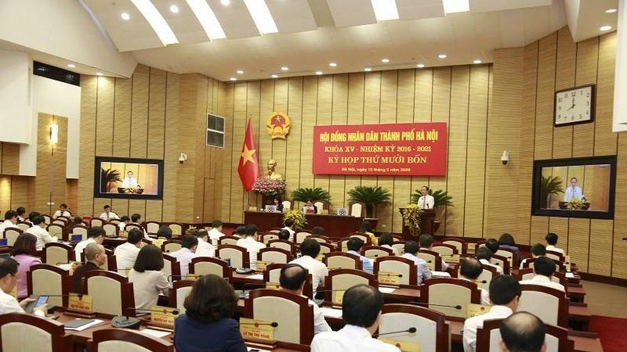 Khai mạc Kỳ họp thứ 15 HĐND TP Hà Nội, bàn nhiều nội dung quan trọng